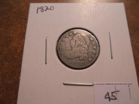 1820 Capped Bust Dime