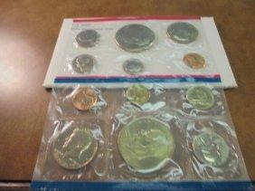 1976 Us Mint Set (unc) P/d (with Envelope)