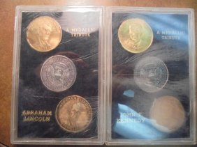 Abraham Lincoln & John Kennedy Medallic Tribute