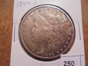 1894-o Morgan Silver Dollar Toned Better Date