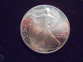 1992 American Silver Eagle Unc