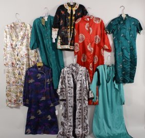 Lot Of Asian Inspired Robes And Other Clothing