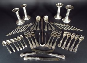 Lot Of Sterling & Electroplate Tableware