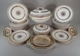 Group Of Mintons English Tableware 19thc