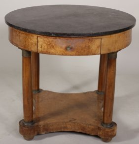 French Empire Bouillotte Table,19th C.