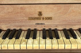 Steinway Louis Xvi Style Upright Piano,20th