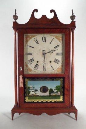 Eli Terry Mantle Clock Made By Seth Thomas 19c
