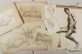 Martin Baer, Am.,1894-1961, Drawings