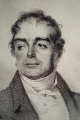 Lithograph Of Peter Little, Esq., Baltimore, 19 C