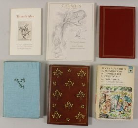 Lot Of Books; Lewis Carroll & Alice In Wonderland