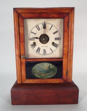 Seth Thomas Mantle Clock American 19thc