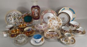 Lot of European Porcelain, 19th/20th C.