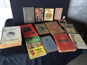 Group Of Recipe Books