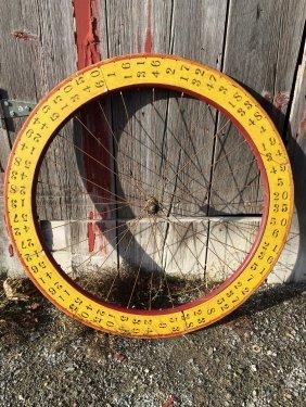 Wooden Carnival Wheel