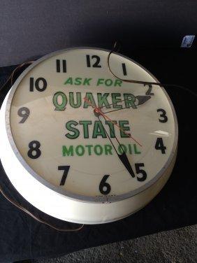 Quaker State Clock