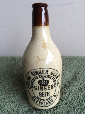 Crown Ginger Beer Bottle
