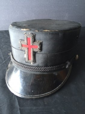 Knights Templar Cap