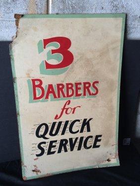 Fibreboard Sign