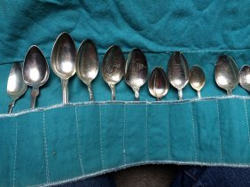 Group,12 Silver Spoons