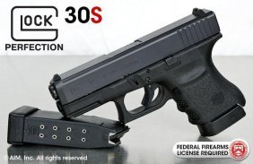 Glock 30 S Chambered In .45acp 2 Mags
