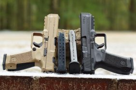 Canik 9mm Tan 2 Mags And Holster