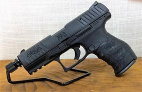"Walther Ppq .22lr Semi Auto Tactical 4"" With Threaded"