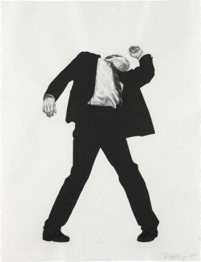 ROBERT LONGO, Untitled (Men In Cities), 1984