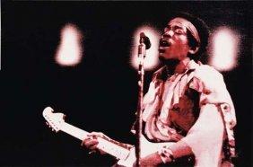 GEORGE CONDO, Jimi Hendrix 1, 1999