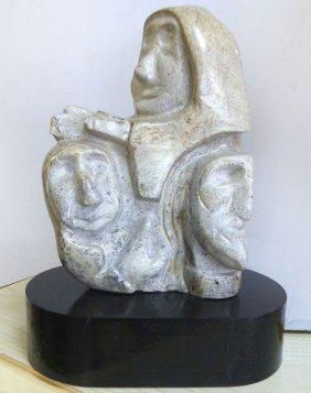 Alaskan Inuit Soapstone Sculpture