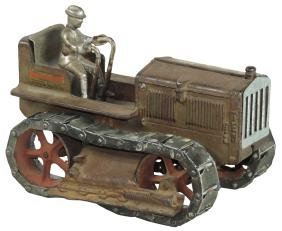 Toy Tractor, Arcade Caterpillar Ten Diesel, C.1932