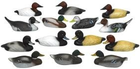 Decoys (14), Miniature Or Salesman Samples From
