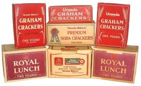 National Biscuit Company Cracker Boxes (7), Premi