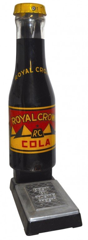 Royal Crown Cola Floor Scale, Mfgd By Adv. Sales C