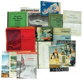 Boat Dealer Advertising Literature, 30+ Pcs On Ch