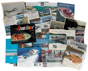 Boat Dealer Advertising Literature, 20+ Pc Of Cre
