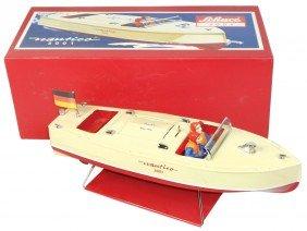 Toy Boat, Schuco Nautico 3001, The C.1980's Vinta