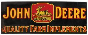 John Deere Sign, John Deere Quality Farm Implements