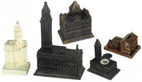 Still banks & desk accessories (5), Lincoln's Home
