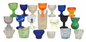Drug Store Eye Cups & Nose Cup (20), Assorted Sizes,