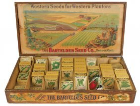 Country Store Seed Display Box, Barteldes Seed