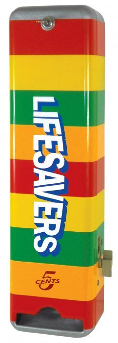 Coin-operated Vending Machine, Lifesavers 5 Cents,