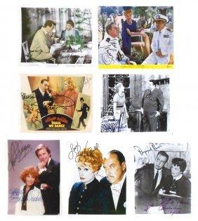 Autographed Photos (7), The Honeymooners-gleason,