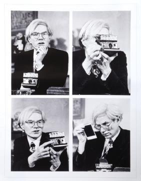 Jean-pierre Laffont, Andy Warhol Union Square Nyc Photo