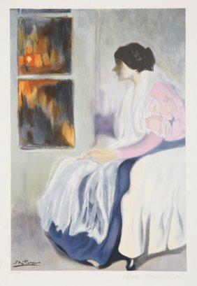 Pablo Picasso, La Soeur De L'Artiste, Lithograph