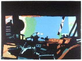 John Hultberg, Wide Window II, Silkscreen