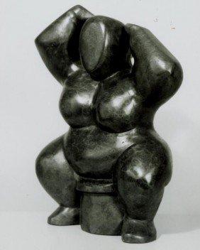 Sam Diamond, Voluptuous Nude Figure, Sculpture