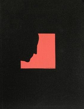 Marcel Duchamp, Self Portrait In Profile (Red), Si