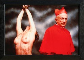 Andres Serrano, Heaven And Hell, Cibachrome Photog