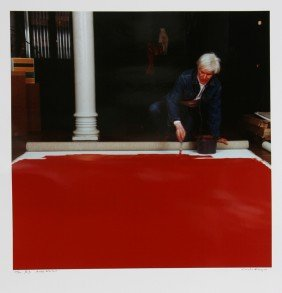 Curtis Knapp, Andy Warhol Red Series 3, Color Phot