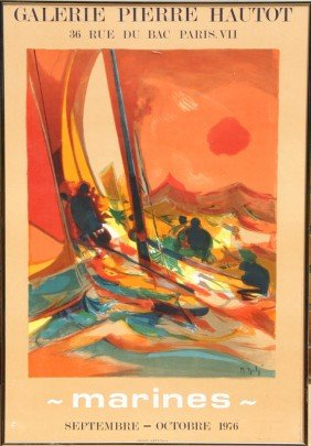 Marcel Mouly, Marines, Poster